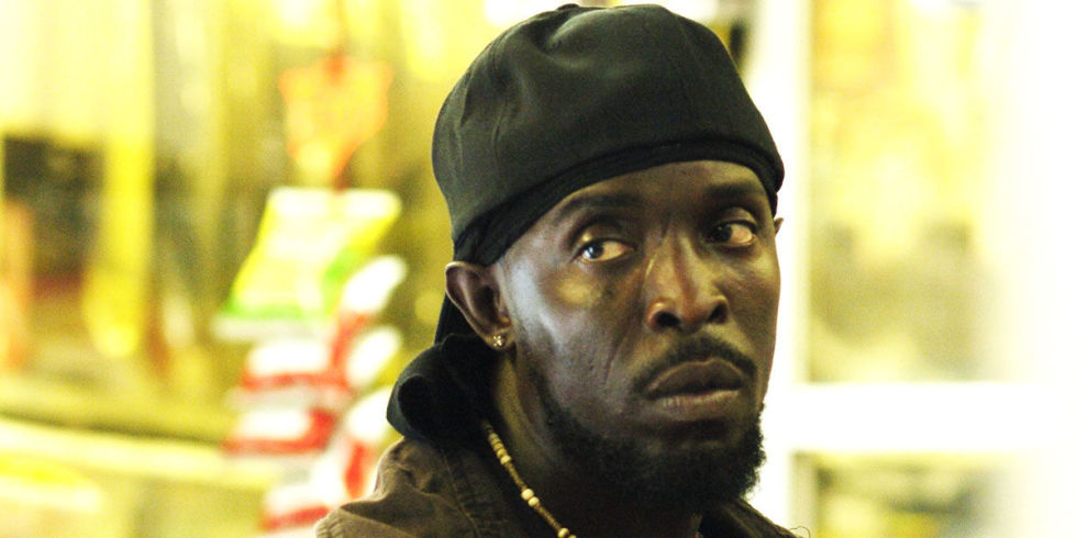 Michael K. Williams as Omar Little on HBO's 'The Wire' in convenience store