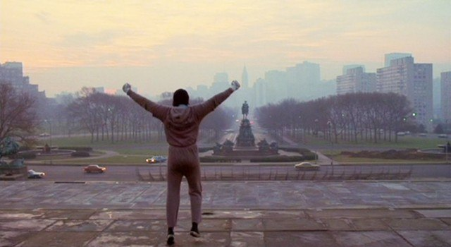 Sylvester Stallone stars as Rocky Balboa in the spectacular sports drama, 'Rocky'