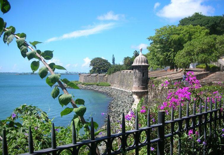Coast of San Juan, Puerto Rico
