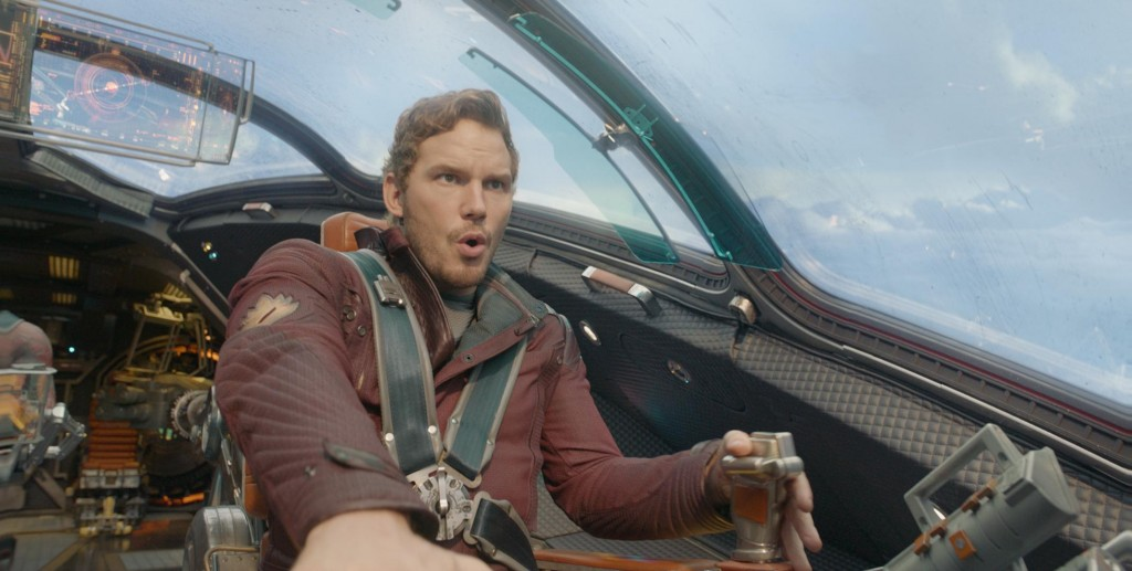 Chris Pratt in Guardians of the Galaxy | Source: Marvel