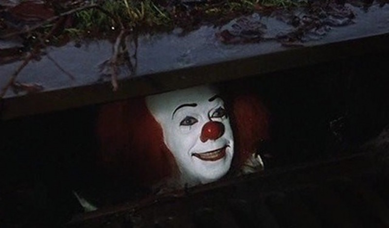 Pennywise from the original movie adaptation of Stephen King's It