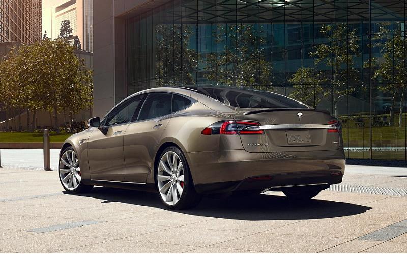 Tesla Model S electric vehicle