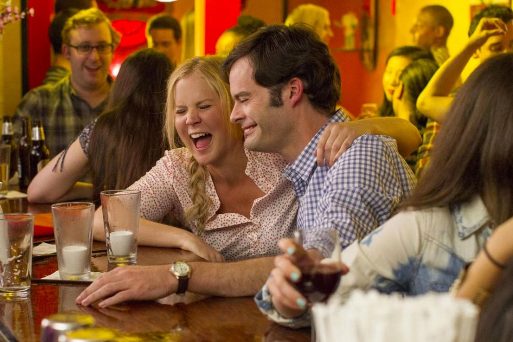 Amy Schumer and Bill Hader