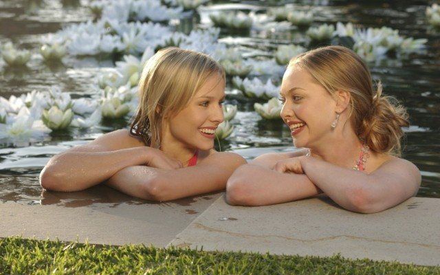 Kristen Bell and Amanda Seyfried in 'Veronica Mars.'