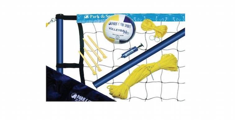 Park & Sun Spiker Sport Steel Volleyball Set