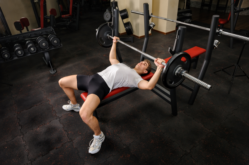Lying Triceps Press Get Muscular Arms With...