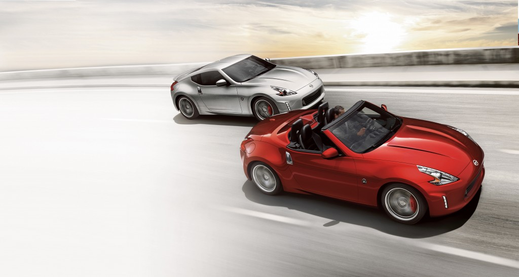 Nissan 370Z coupe and roadster