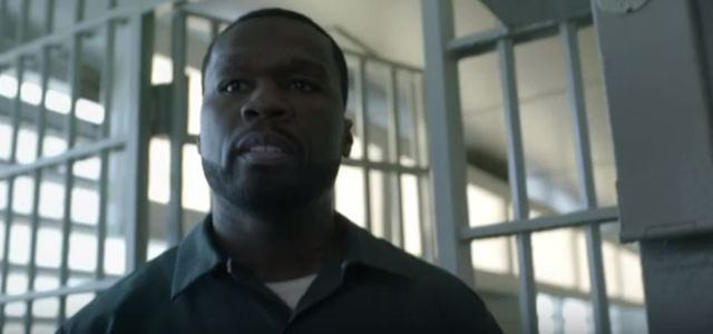 50 Cent is in a prison uniform and behind bars in Power.