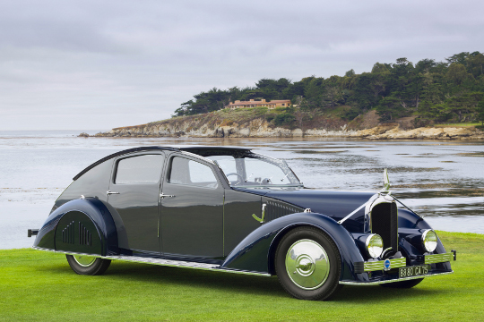 Used Courtesy of Pebble Beach Concours d'Elegance