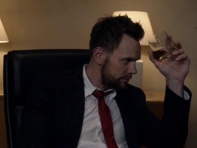 Jeff Winger's Best Accessory: Scotch