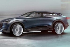 Audi Is Set to Take On the Tesla Model X