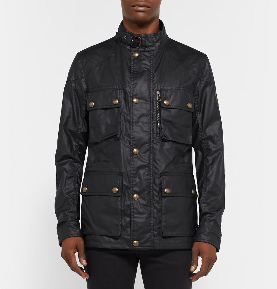Belstaff Trialmaster waxed canvas jacket