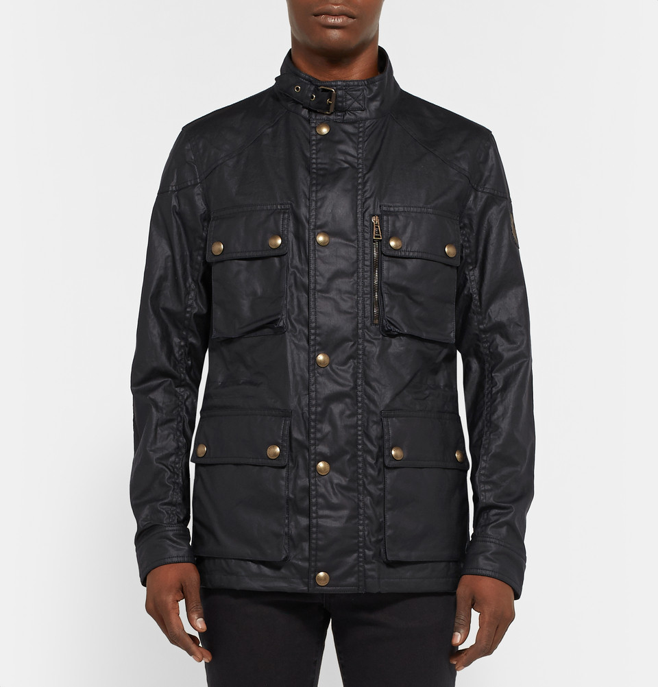 Belstaff Trialmaster waxed canvas jacket