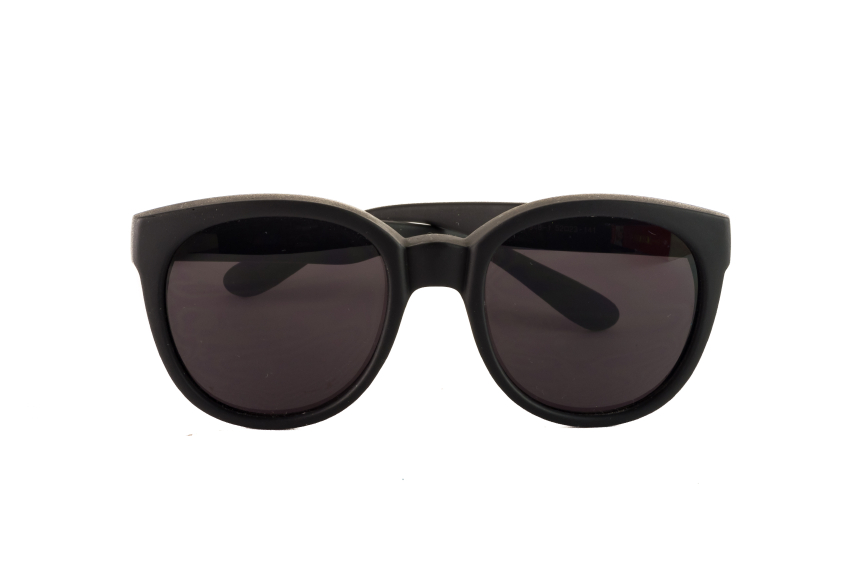 Big sunglasses with dark glasses