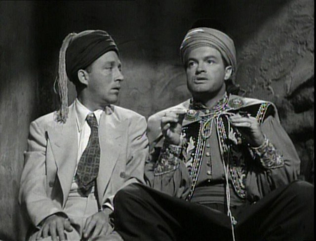 Bing Crosby and Bob Hope in Road to Morocco