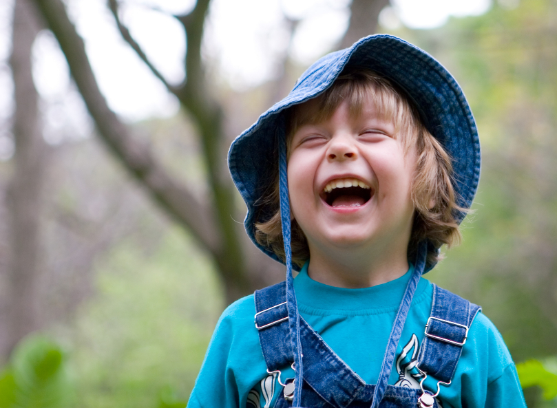little boy, laughing, happy