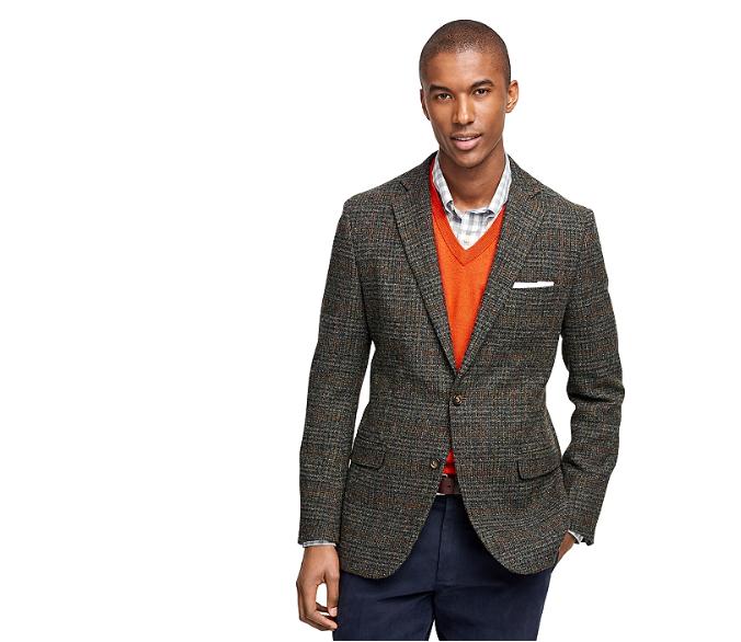 Brooks Brothers Harris Tweed sport coat