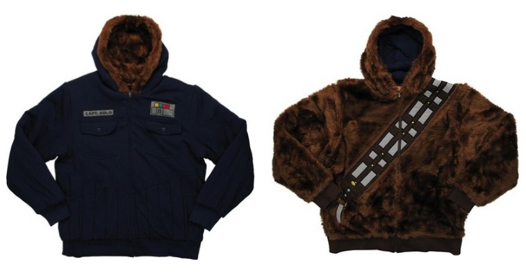 A Star Wars sweatshirt -- the wrong choice for a job interview