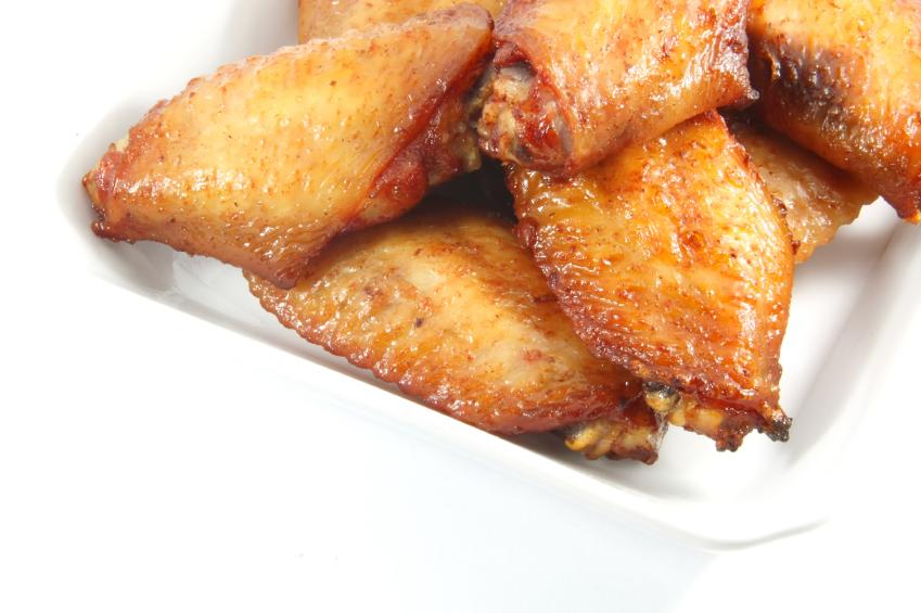 Maple bacon chicken wings