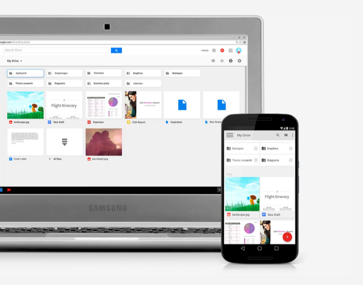 Chromebook and Android smarpthone stay synced