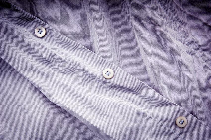 Crumpled Business Shirt, wrinkles