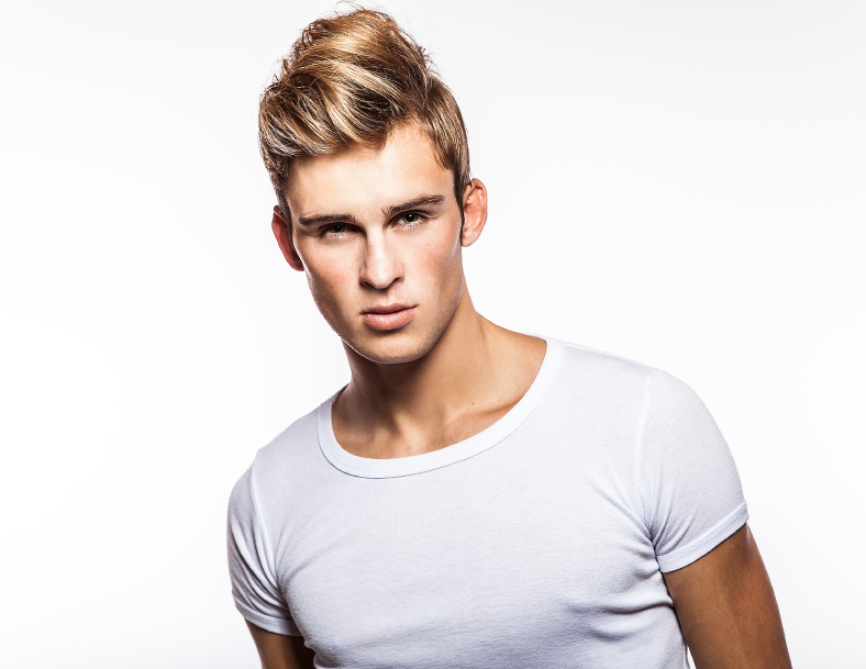 stylish man, hair, haircut