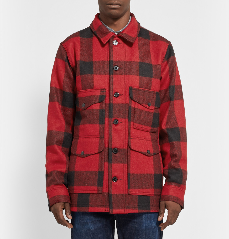 Filson Cruiser Mackinaw wool shirt jacket