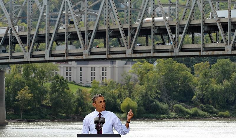 US President Barack Obama speaks on his