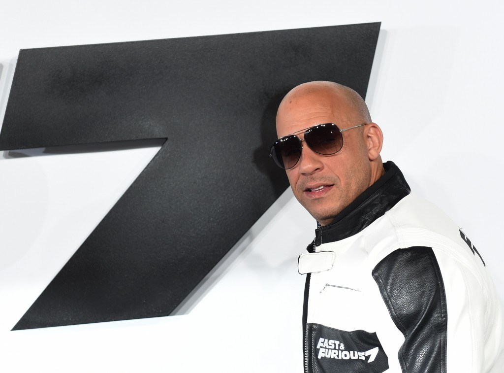 Vin Diesel | Mark Ralston/AFP/Getty images