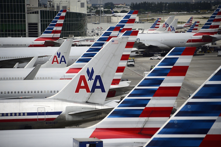 American Airlines planes