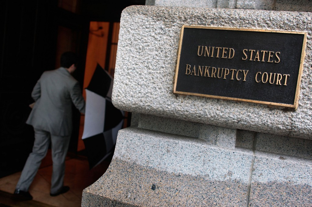 sign for bankruptcy court