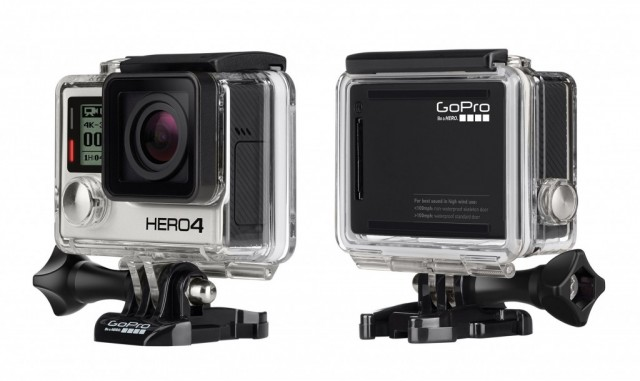 GoPro Hero4 Black wearable action cam