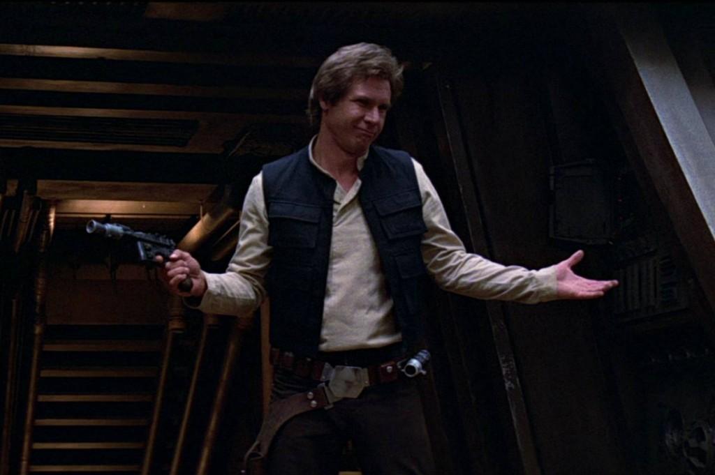 Han Solo in 'Return of the Jedi'