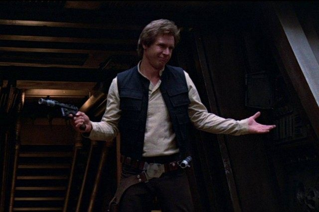 Han Solo in 'Return of the Jedi'