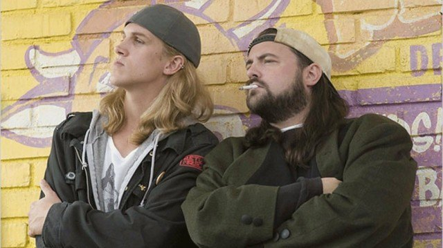 Jason Mewes and Kevin Smith in 'Clerks 2'