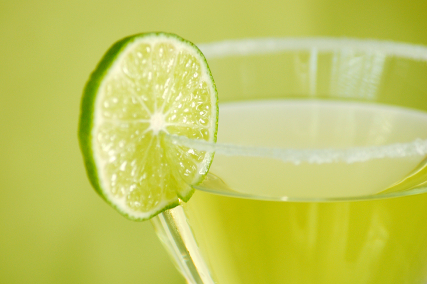 daiquiri, cocktail, lime
