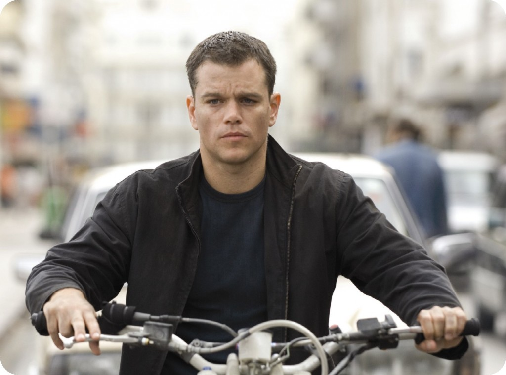 Jason Bourne is on a motorcycle in the Bourne Ultimatum.