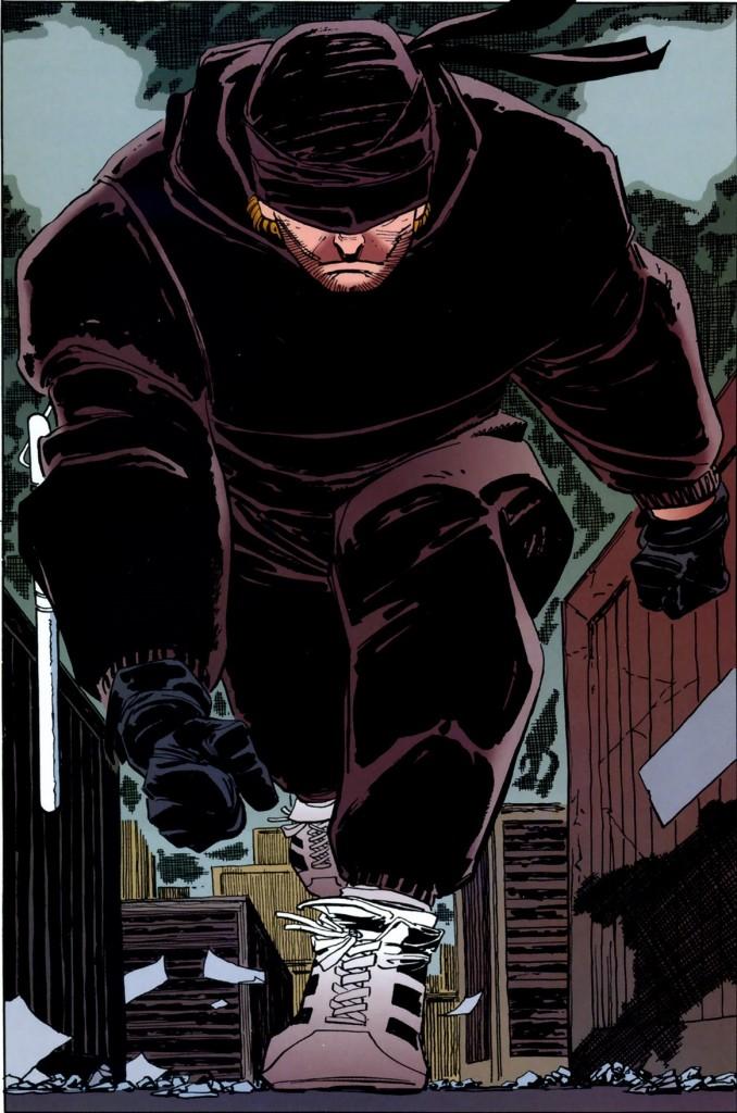 Daredevil, Man without Fear, black suit
