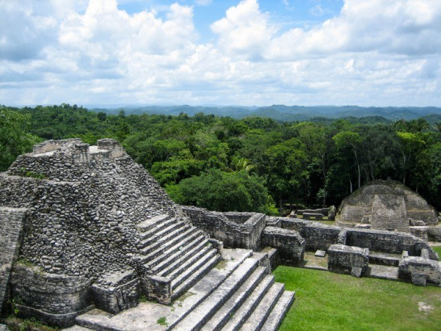 Belize monuments and islands.