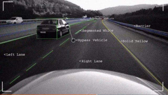 Mobileye display