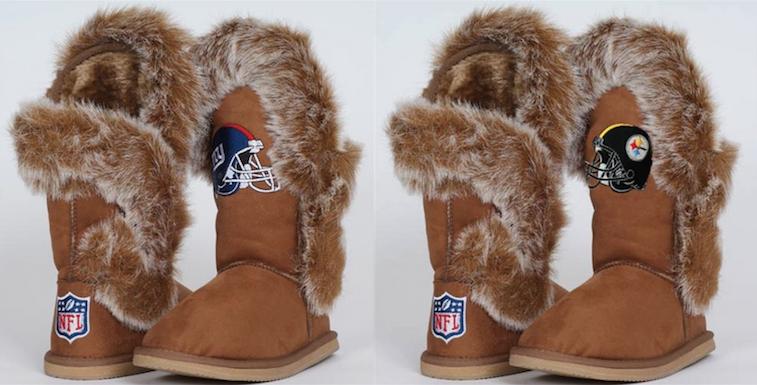 NFL Logo Boots