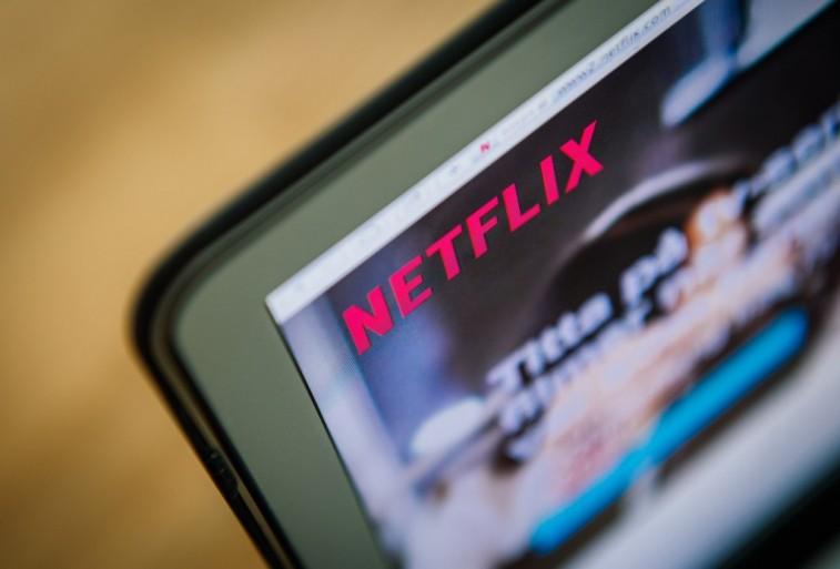 Netflix on a computer screen