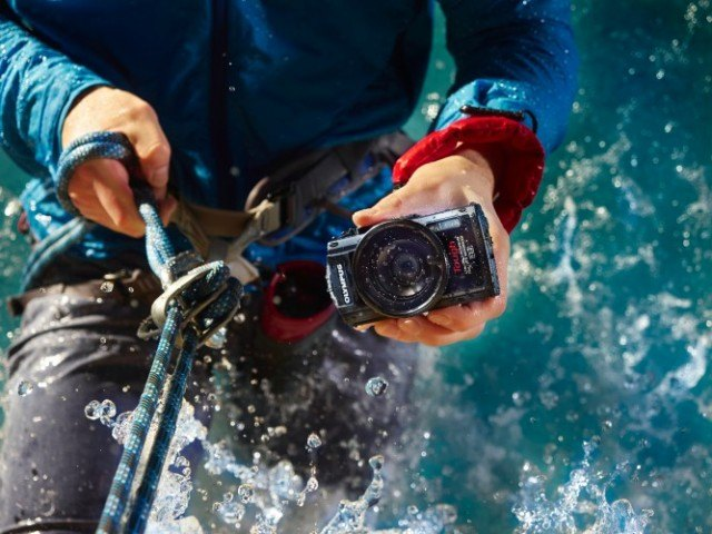 Olympus Stylus TG-3 rugged digital camera