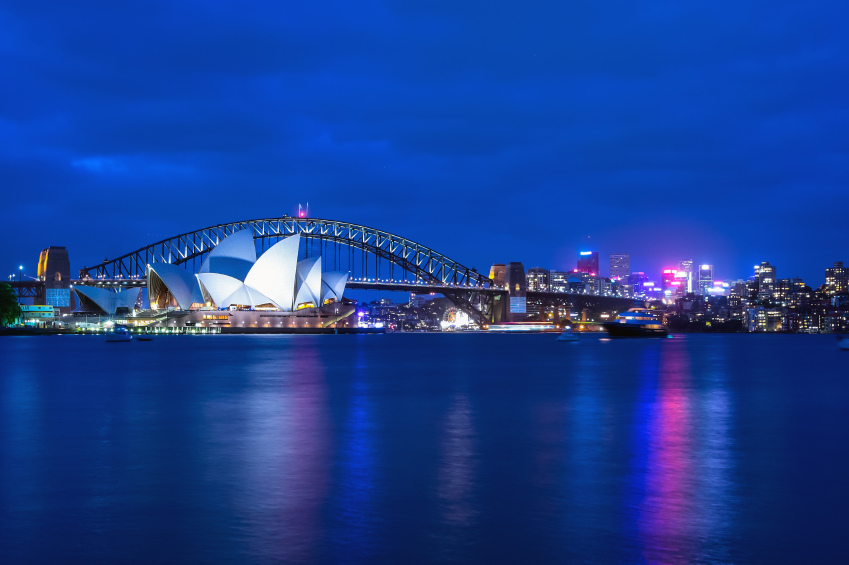 Australia is the place to be if you want to get rich -- or richer.