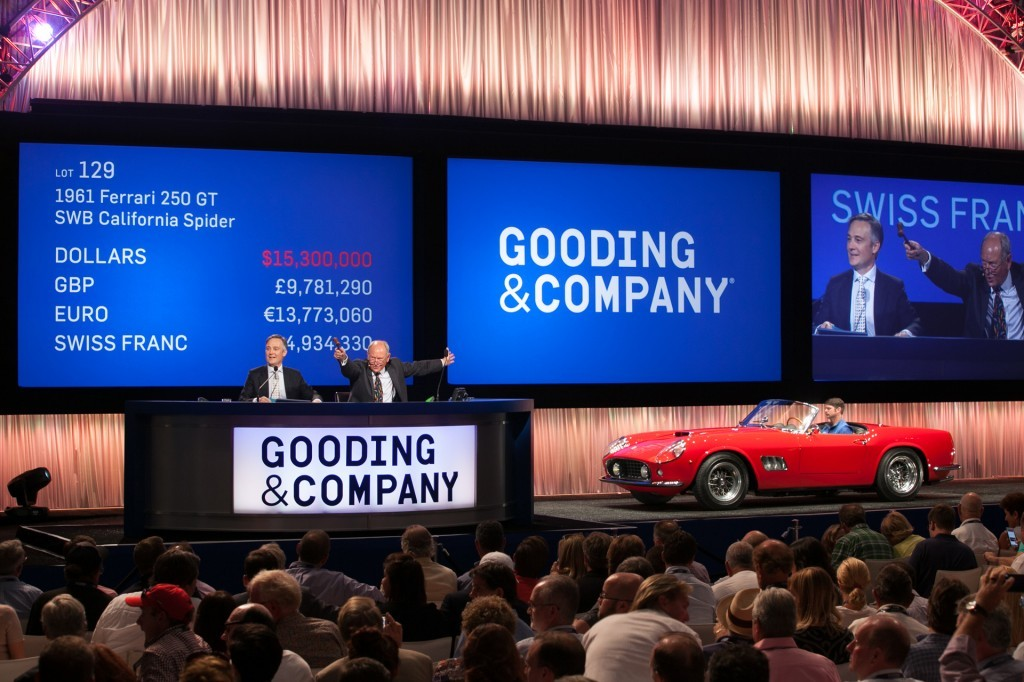 All images copyright and courtesy of Gooding & Company. Photos by Jensen Sutta.