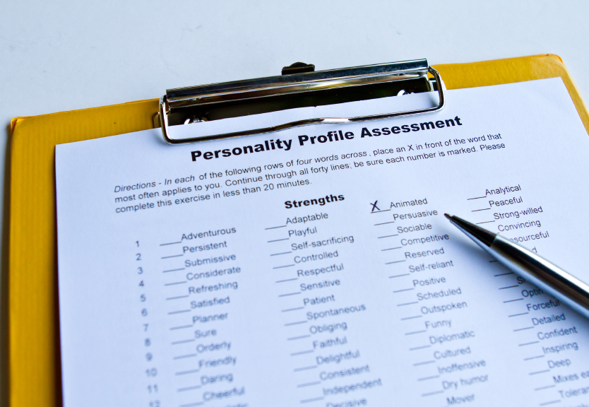 A personality test