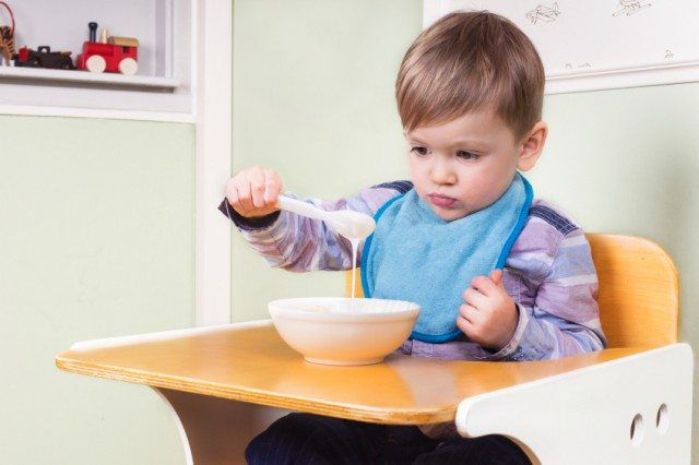 Kid being a picky eater