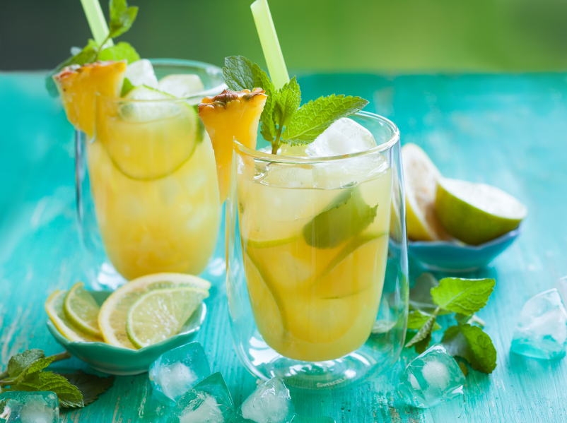 pineapple lime cocktail