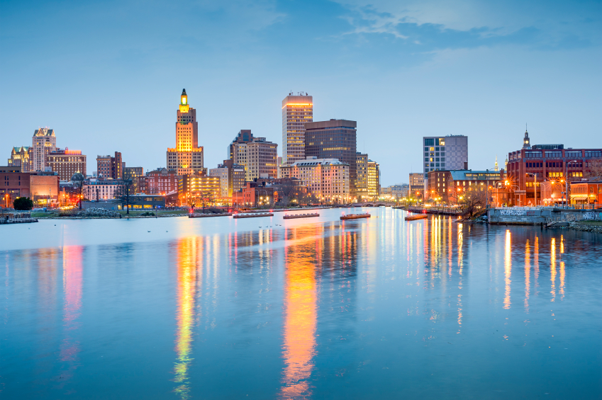Providence downtown Rhode Island