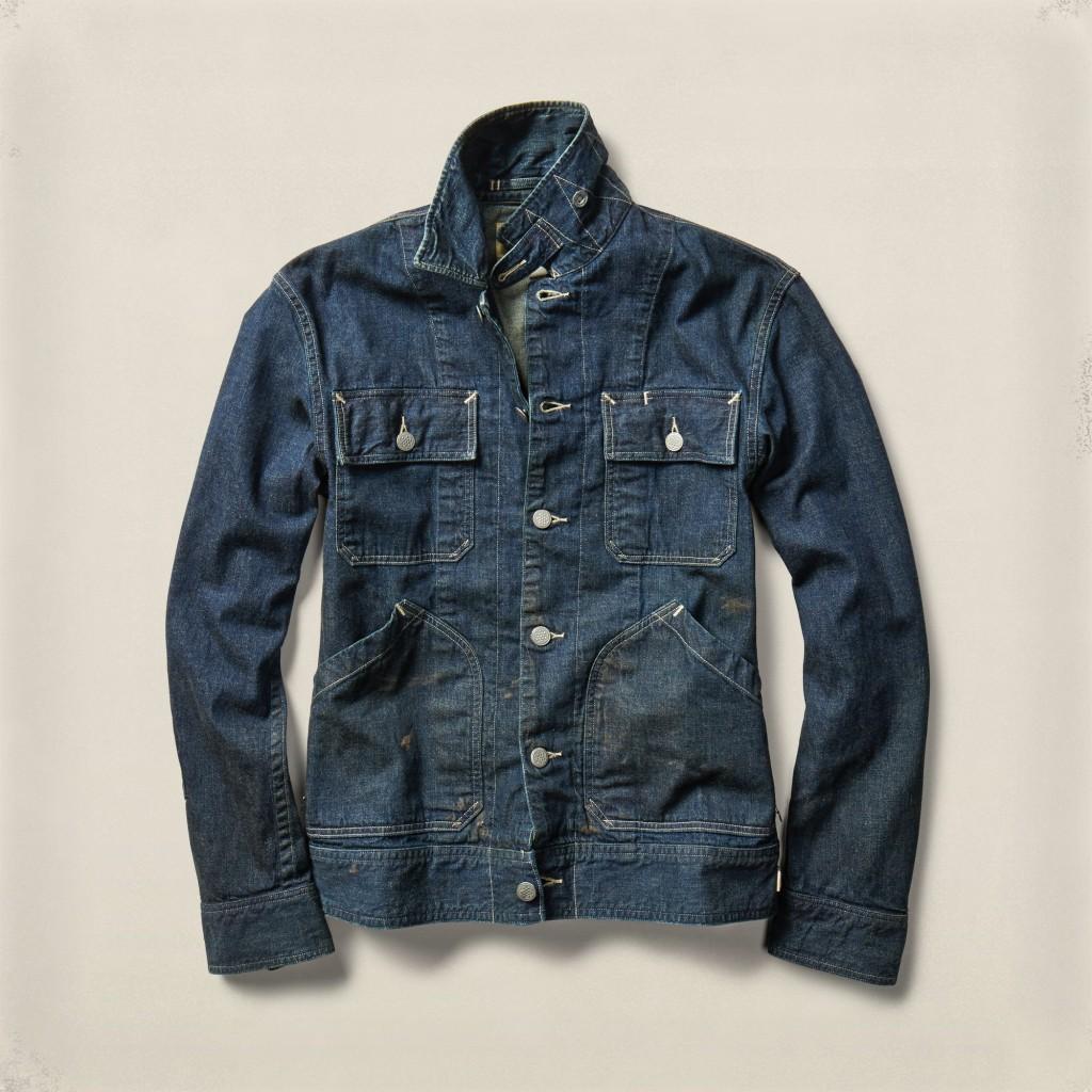 RRL Kenney denim jacket